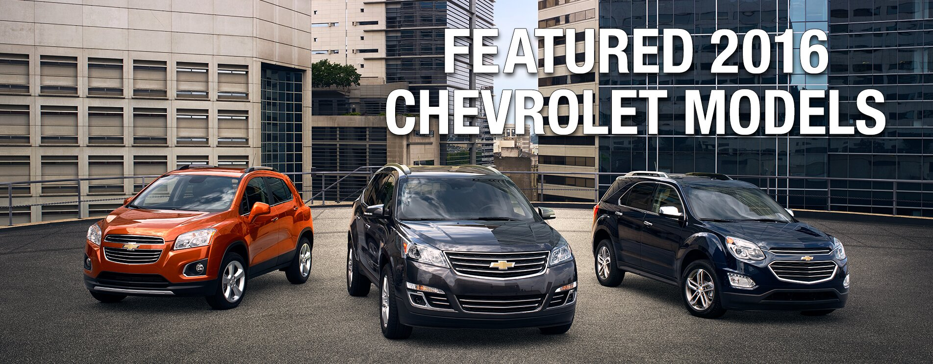 Featured Chevrolets at Arroway